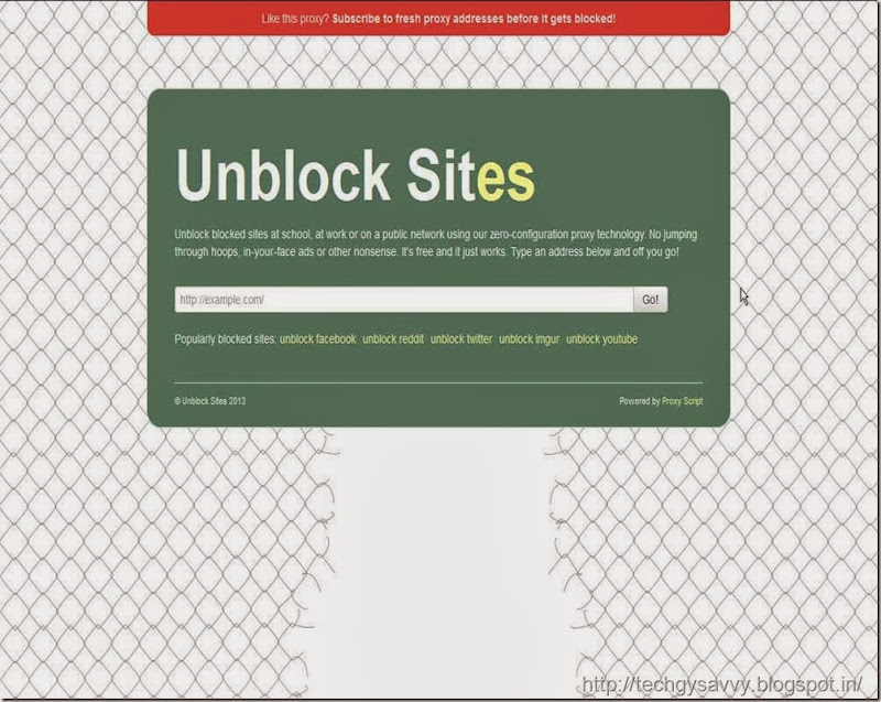 How to unblock Websites like zedge easily | TechgySavvy