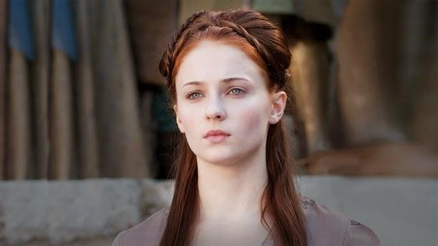 #3. Sophie Turner (Sansa Stark)