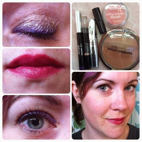 Smudgey purple liner - Lise Watier