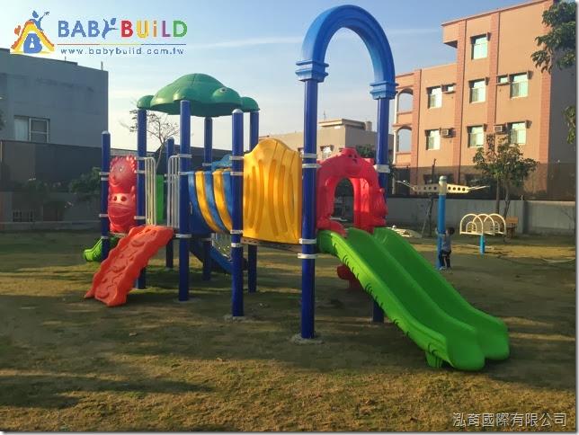 兒童遊戲設施新增設施完工