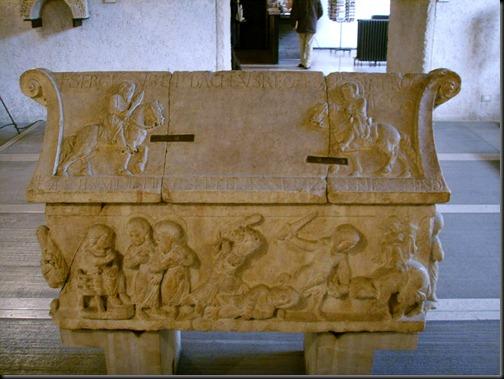 sarkofag sergiusza i bachusa z werony