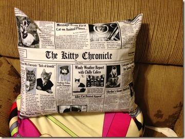 Eric's pillow