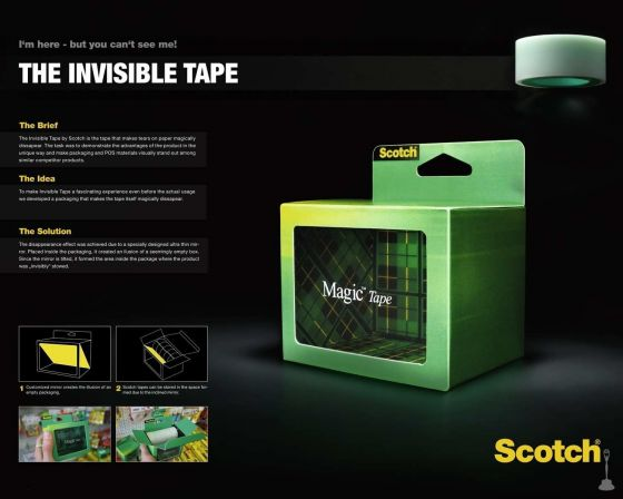 Scotch caja invisible 3