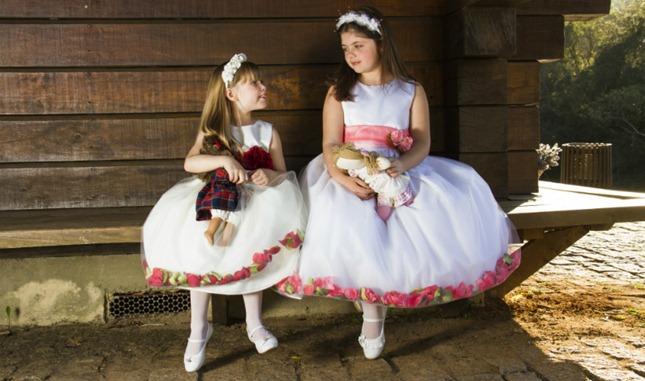 vestido infantil festa meninas