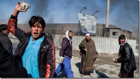 Протесты против сожжения Корана