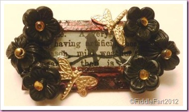 Tim Holtz inspired brooch