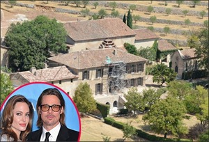 Brad Pitt and Angelina Jolie Were Getting Married at Their Estate in the South of France