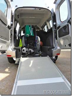 Dacia Dokker rolstoelvervoer 02