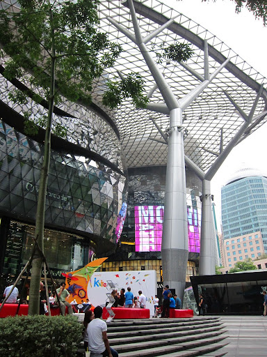 Shopping, shopping, and more shopping on Orchard Road.