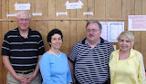 Jul. 9: Stephen Swiss, Jr, Ruth Zowader, Jim Hamilton, Billie Coopwood