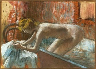 Edgar Degas, Woman Leaving Her Bath, about 1886