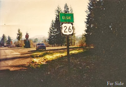 Elsies Road Sign