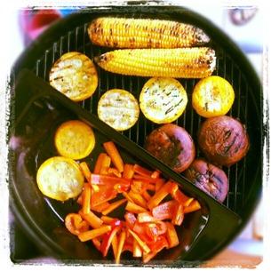 5 Gemüsefest auf dem Grill