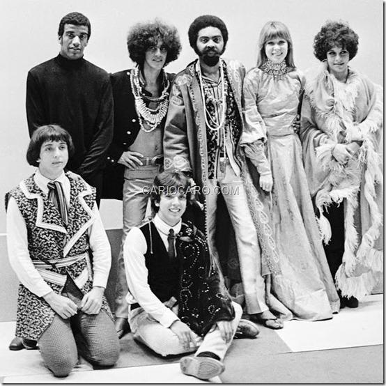 Jorge Benjor, Caetano Veloso, Gilberto Gil, Rita Lee e Gal Costa, Sérgio Dias e Arnaldo Baptista