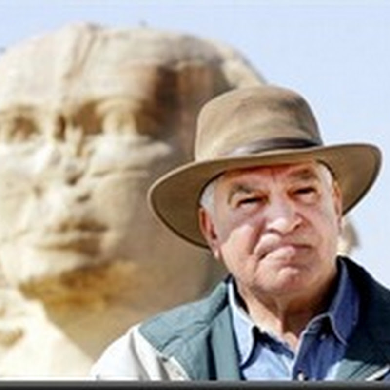 ESCÂNDALO - Zahi Hawass arqueólogo mais poderoso do mundo tem muito a explicar