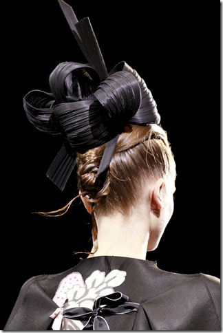Armani Privé Fall 2011 X Philip Treacy