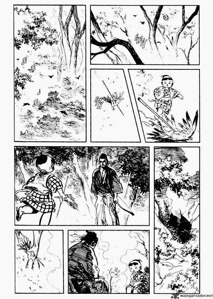 Sói mang con - Lone Wolf and Cub chap 76
