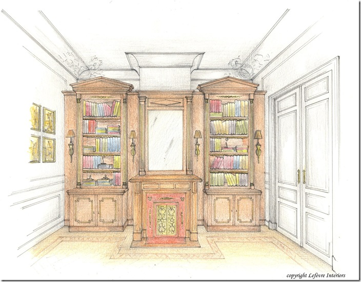 Lefèvre Interiors design sketch
