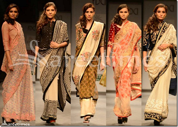 Vineet_Bahl_Sarees_WIFW_Autumn_Winter_2013