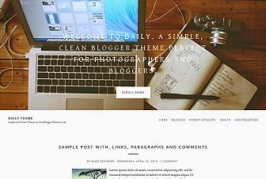 шаблоны blogspot 2015