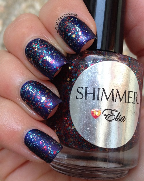 Shimmer Polish Elsa matte