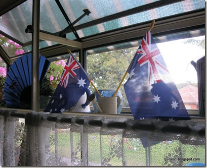 decorating with flags