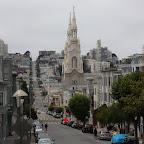 Vers Washington square, je crois. Pas loin de chez Mama's, le resto spécial brunch incontournable de SF, qu'on a donc testé. Deux fois.