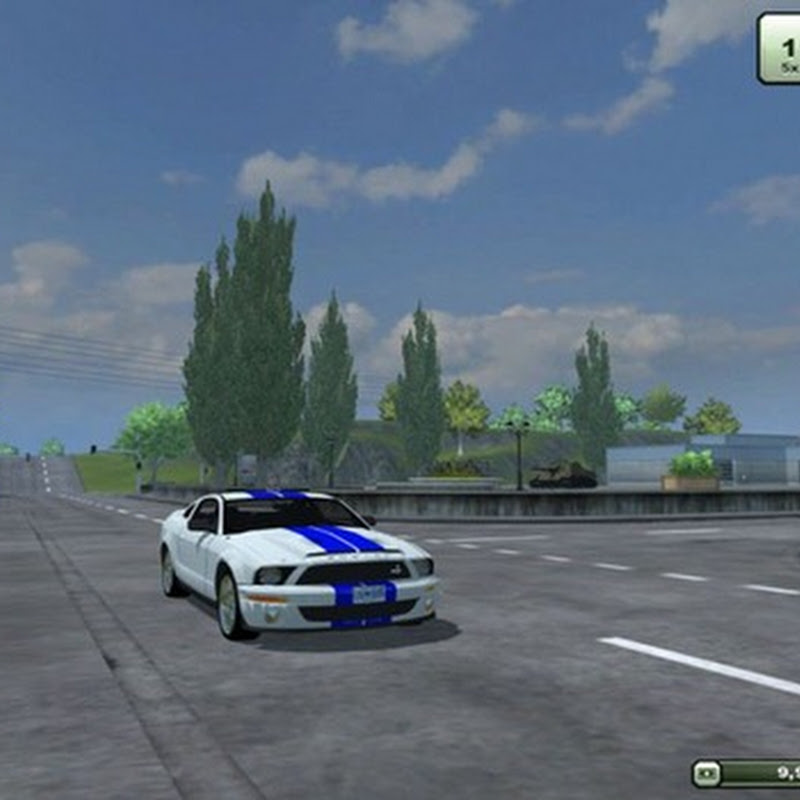 Farming simulator 2013 - Ford Shelby Mustang v 1.0 (Traffic Vehicles)