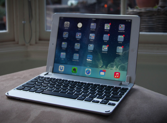 New, lighter BrydgeAir keyboard aims to bring laptop functionality to Apple's iPad Air via AppleInsider