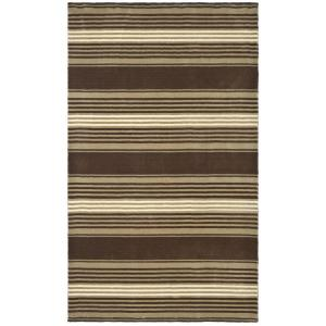 Martha Stewart Living Harmony Stripe Tobacco Leaf Wool Area Rug (homedepot.com)
