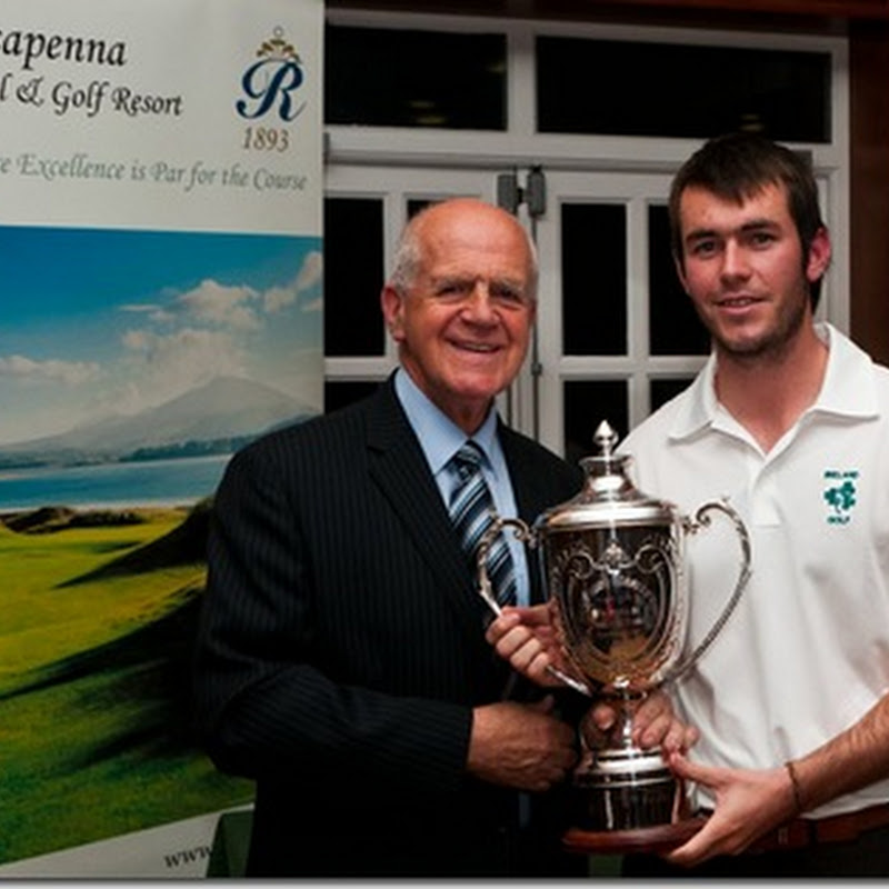 Well Done To Aaron Kearney on Winning the 2011 Rosapenna Senior Scratch Cup