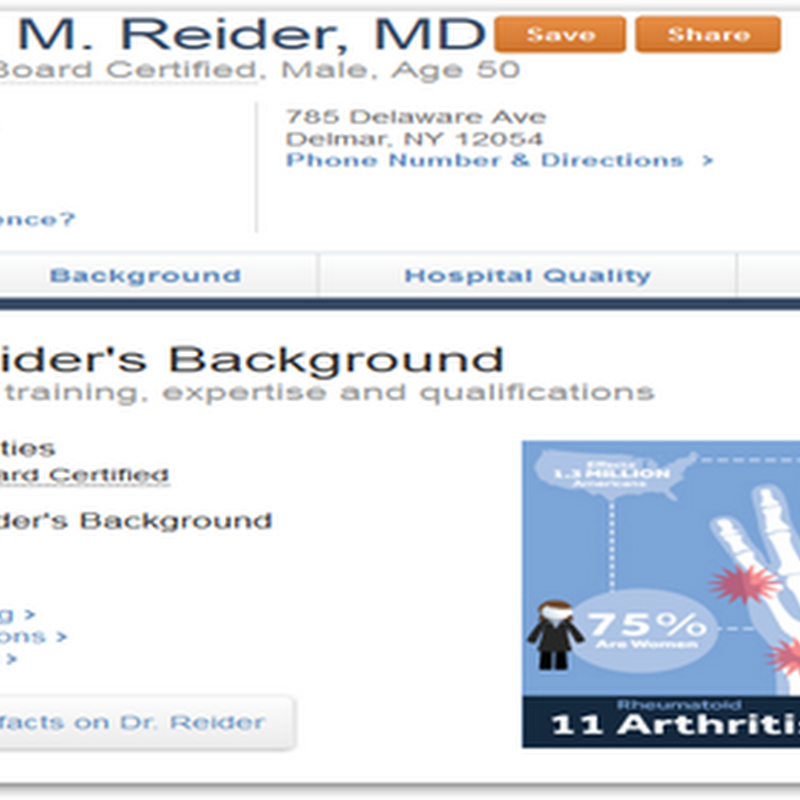 Jacob Reider To Lead the ONC Until New Leader Is Appointed–Visit His Page on Healthgrades Showing He's Still Open For Business To See Patients, Along With Links to Dead Doctors, Some On Staff At Hospitals They Have Never Set Foot In And More…