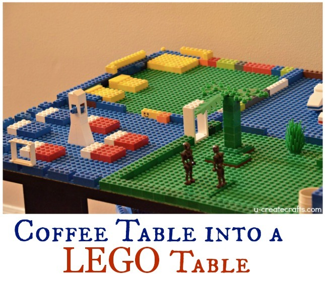 Coffee Table into a Lego Table