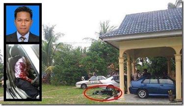 Gambar guru muzik mati ditembak di Kelantan 2