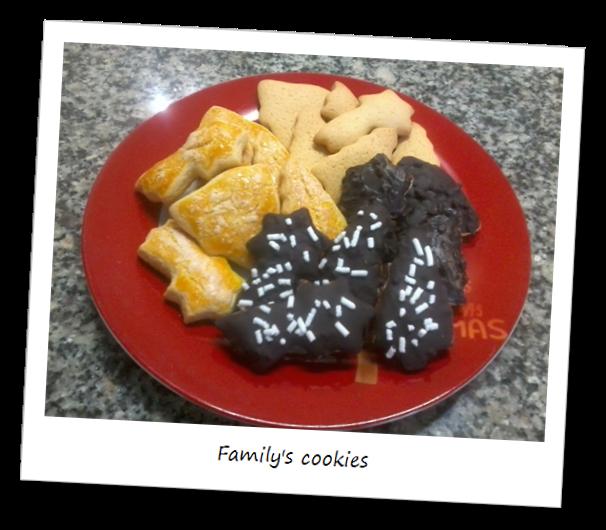 Fotografia dei dolci i biscotti di famiglia