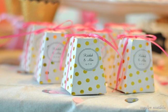 A colorful country glam bridal shower. So bright and cheery!
