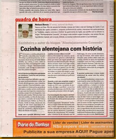 Entrevista Diário do Alentejo