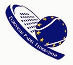 European Padel Federation Logo Federación Europea de Pádel