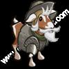 White Quixote Goat