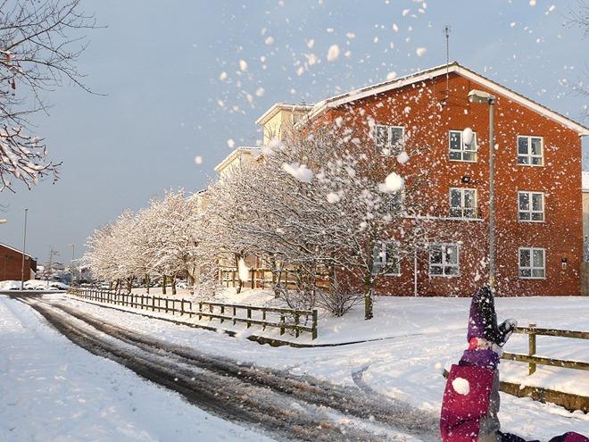 Бирмингем. Зима