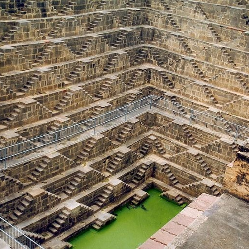 Chand Baori Step Well in Rajasthan, India
