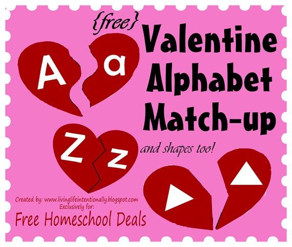 valentine alphabet match upfhd - Valentine Deals