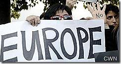 Chipre manifesta-se contra a Europa.Mar.2013