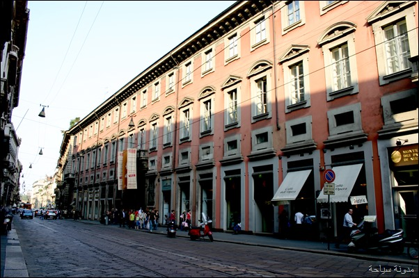 التسوق في ميلان