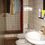 typical amsterdam washroom in Amsterdam, Noord Holland, Netherlands