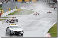 La safety car è stata la protagonista del gran premio del Canada 2011