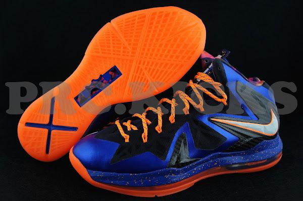Nike LeBron X PS 8211 Hyper Blue amp Black 8211 Release Date