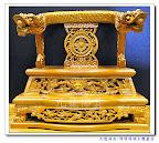 『八吋八神明佛像專用龍椅』-八吋八神明佛像+精緻龍椅=高度一尺三(關聖帝君或是太子還是王爺都可以用歐~)