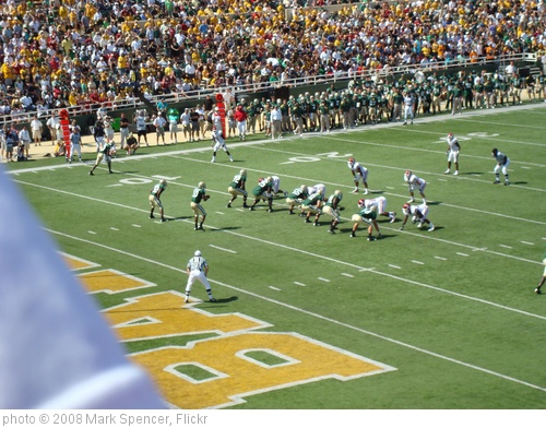 'Oklahoma Sooners at Baylor Bears' photo (c) 2008, Mark Spencer - license: http://creativecommons.org/licenses/by-sa/2.0/