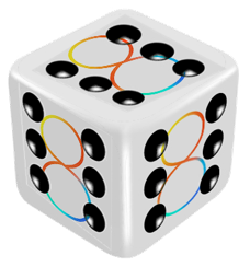 Eight for 8 logo day 6 dice